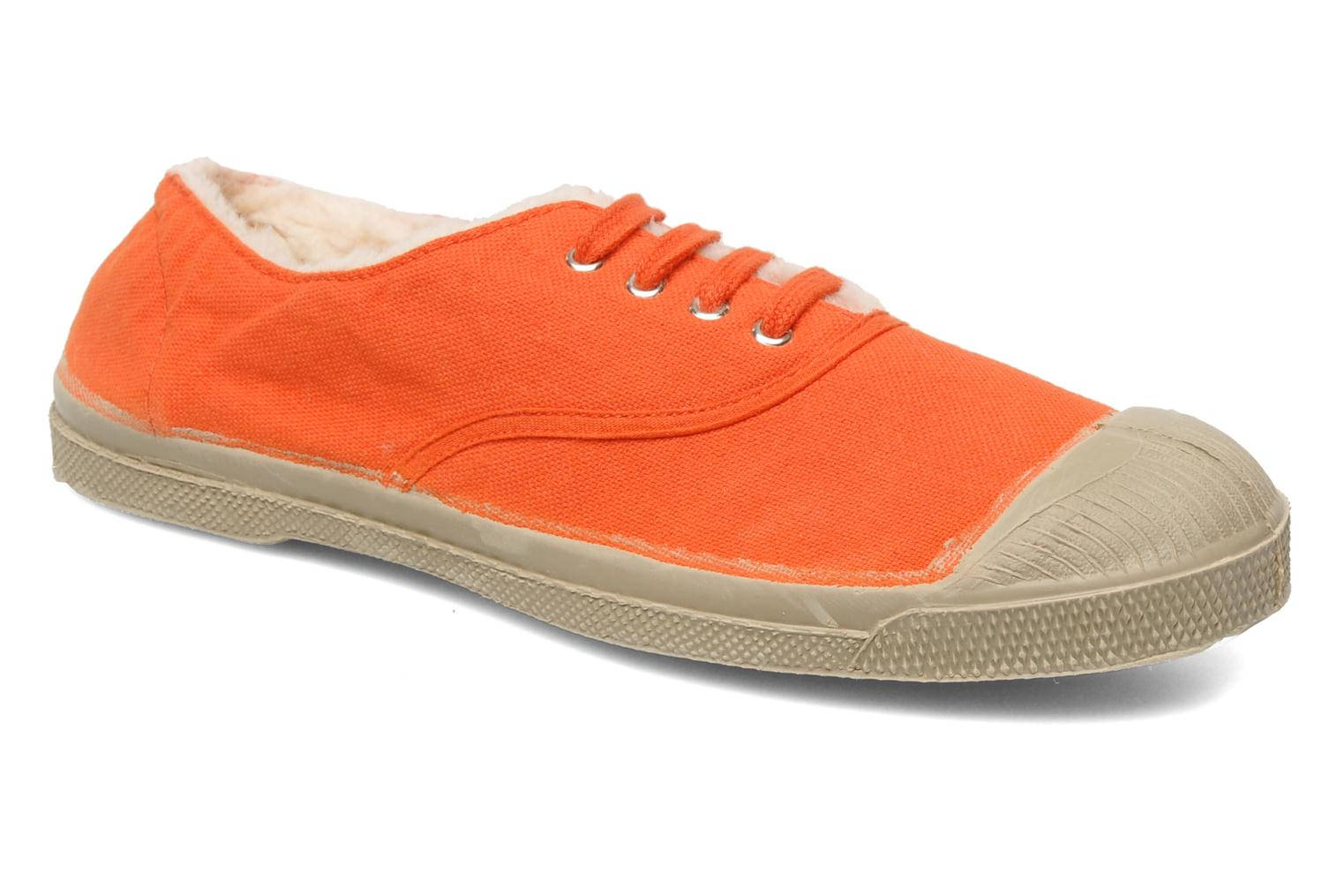 Sneakers Bensimon Tennis Fourrees E Orange detaljeret billede af skoene